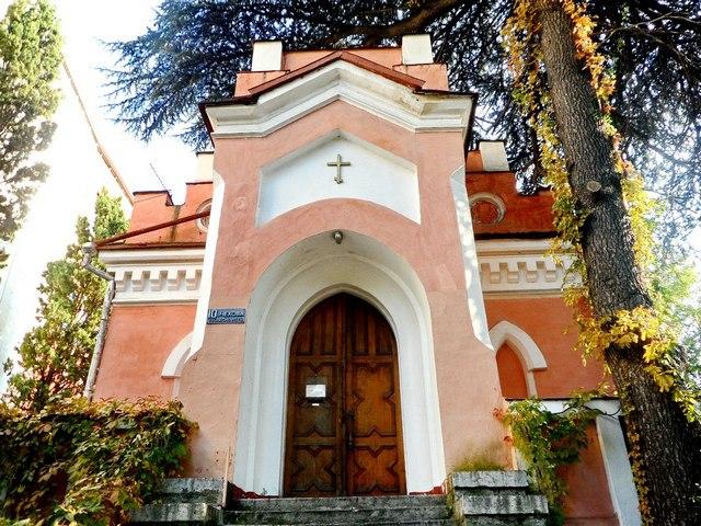 Лютеранская кирха в Ялте