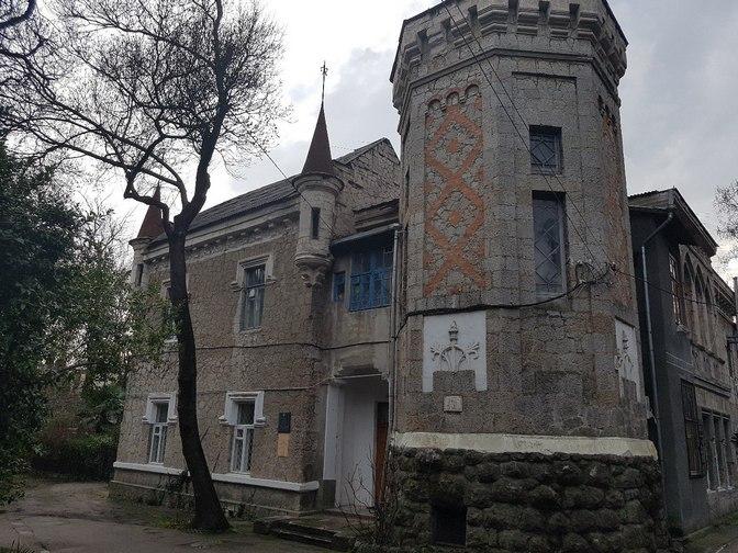 Дача Омюр. Музей Чехова в Ялте.